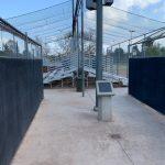 Softball Clean Up Day at Borchard Park.