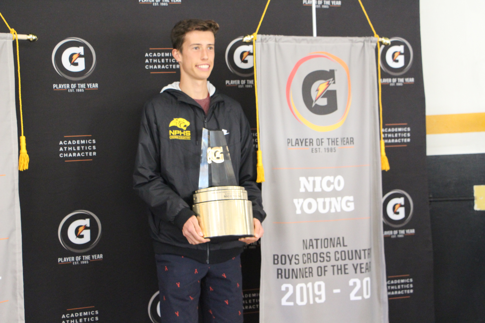 Nico Young Named Gatorade National Boys Cross Country Runner of the Year