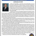 CIF Commissioner's Message Regarding Spring Sports