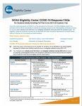 NCAA Eligibility Center COVID-19 Response FAQs
