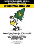 NPHS Baseball Christmas Tree/Wreath Fundraiser