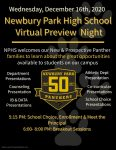 Panther Preview Night is Tonight!