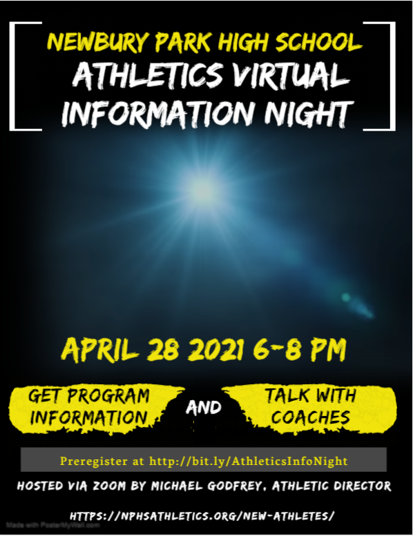 Athletics Virtual information Night