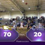 Plymouth Christian Academy Boys Varsity Basketball beat Rudolf Steiner High School 70-20