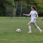 Girls Varsity Soccer beats Intercity Baptist 2 – 0