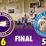Plymouth Christian Academy Boys Varsity Basketball beat Our Lady of the Lake 66-53