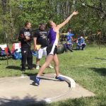 Chapel Sets School Record in Shot Put