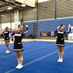 Varsity Cheer places 2nd in MIAC Meet #2