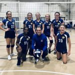 Girls Middle School Gold Team (7th/8th Grade) Volleyball beats Southfield Christian 2 – 1