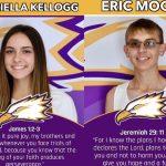 Gabriella Kellogg and Eric Moore earn Fall Athlete of the Season