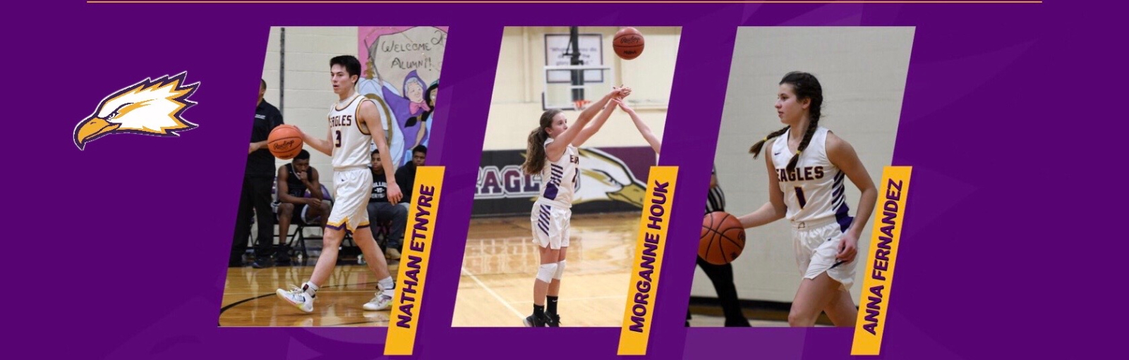 Anna Fernandez, Morganne Houk, and Nathan Etnyre Earn All-State Honors