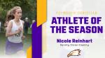 Nicole Reinhart Wins Fall Athlete of the Season