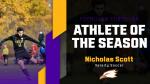 Nicholas Scott Wins Fall Athlete of the Season
