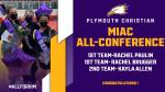 Senior Cheerleaders Earn All-Conference Honors