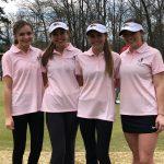 Girls' Golf Defeats Haleyville, Colbert Heights and Deshler