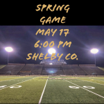 Spring Football Game 2019