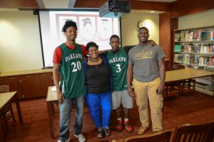 Chance, Jay, and Larry College Signing