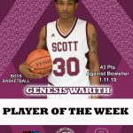 Scott Players of the Week
