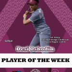 Bulldog Player of the Week 3/28-4/11