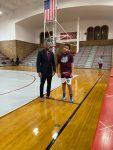 William Palmer ready for war @ Central Catholic high school