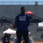 KHALIL GIPSON QUALIFIES FOR STATE TRACK MEET