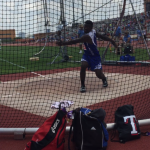 Khalil Gipson finishes 8th at State Meet