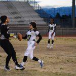 Green Valley High School Girls Varsity Flag Football beat Silverado High School 30-12