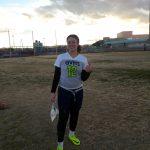 Green Valley High School Girls Junior Varsity Flag Football beat Silverado High School 13-12