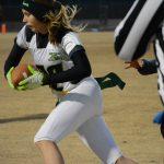 Green Valley High School Girls Junior Varsity Flag Football beat Basic High School 30-12