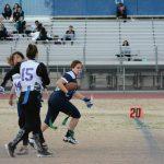 Green Valley High School Girls Varsity Flag Football beat Silverado High School 33-12