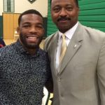 Jordan Burroughs visits Winslow Township High School