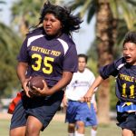Maryvale Preparatory Academy Boys Middle School Flag Football beat Lincoln 2 12-0