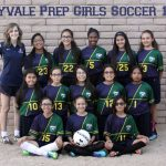 Group photo of the soccer team.