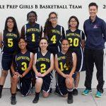 Maryvale Preparatory Academy Girls Middle School Basketball beat Anthem Preparatory Academy 30-6