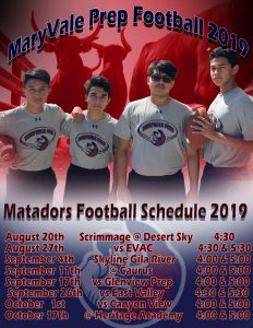 Matador High School Football 2019