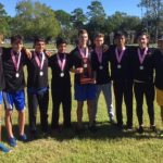 Boys Cross Country Wins 2016 District Championship