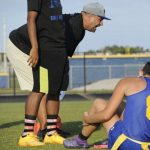 Martin County High School Girls Varsity Flag Football beat Treasure Coast High School 19-0