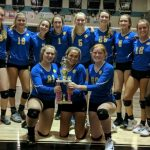 Junior Varsity Volleyball Beats Jensen Beach to Claim Silver Division Title