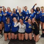 12-0!!!  Junior Varsity Volleyball Caps Off Perfect Season With Win Over Vero Beach