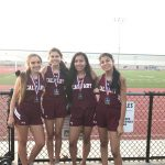 Girls 4×400 Team Earns 3rd Place Medals from St. Paul Classic