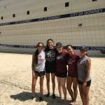 Girls Volleyball Summer Practice