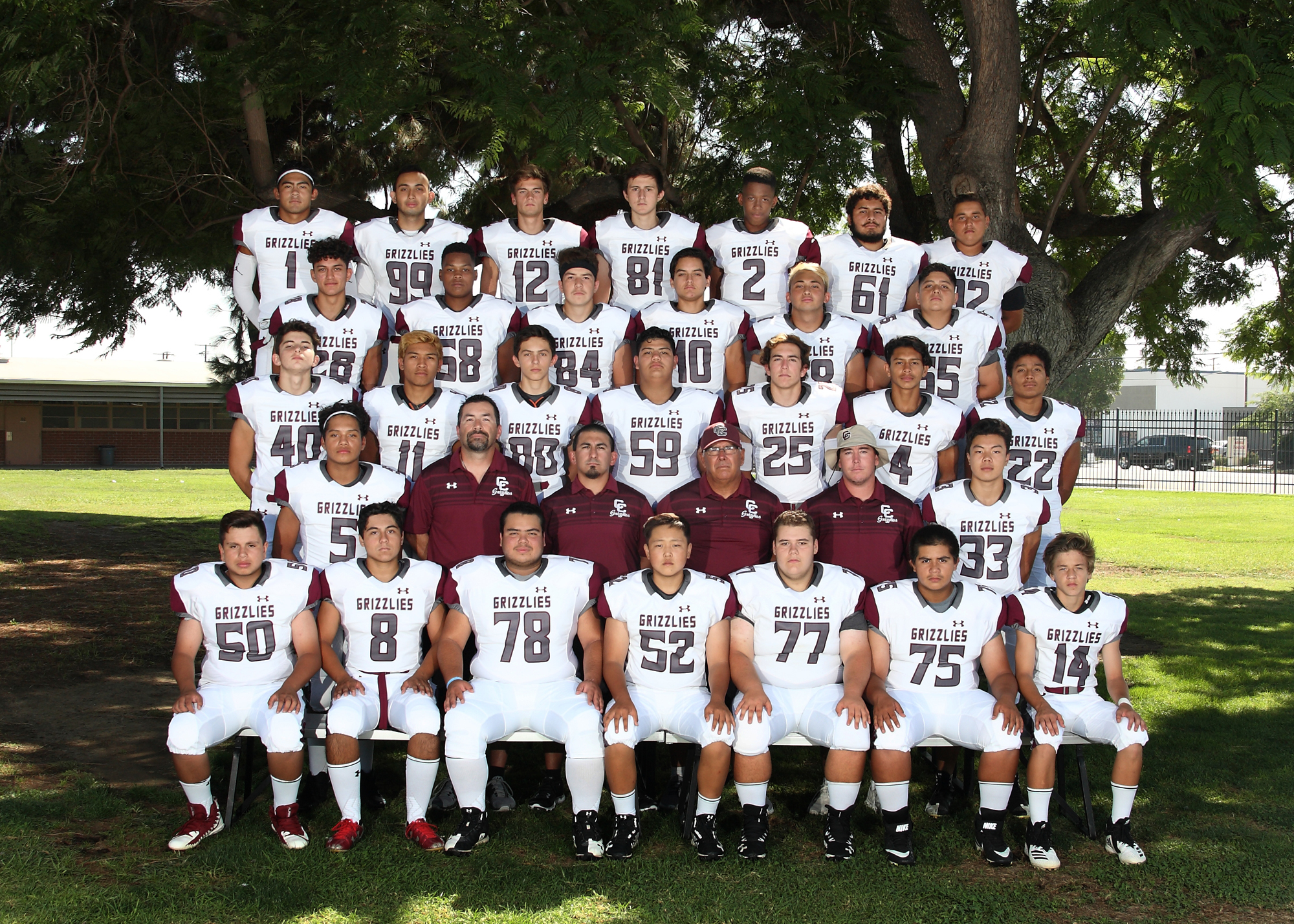 GRIZZLY FOOTBALL HAS A SHOT AT LEAGUE TITLE
