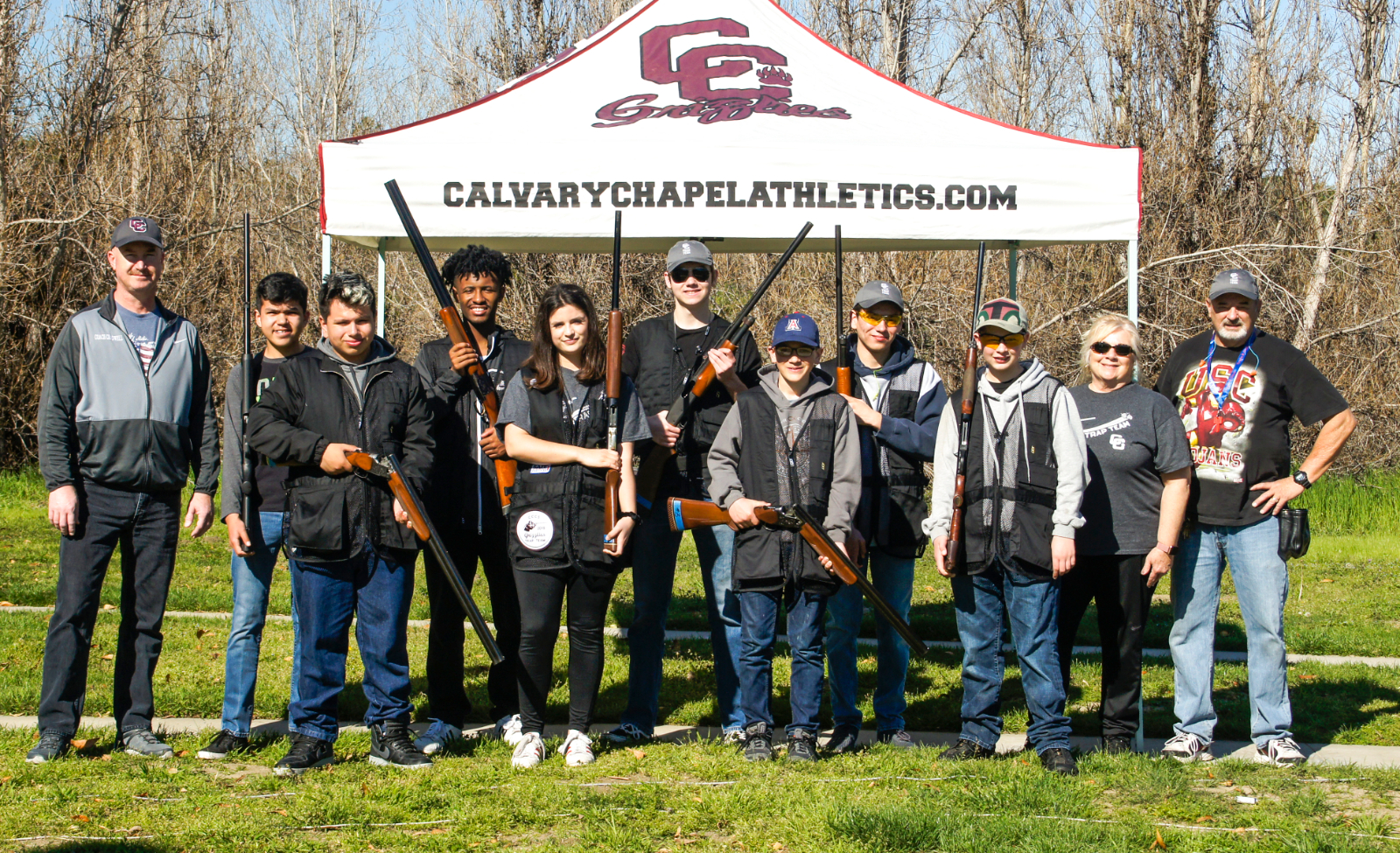 Trap Team Finishes Season at State tournament
