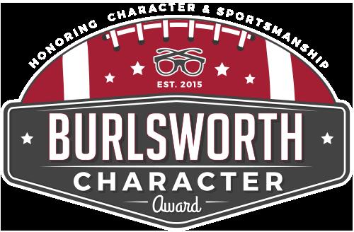 The Brandon Burlsworth Character Award Winner
