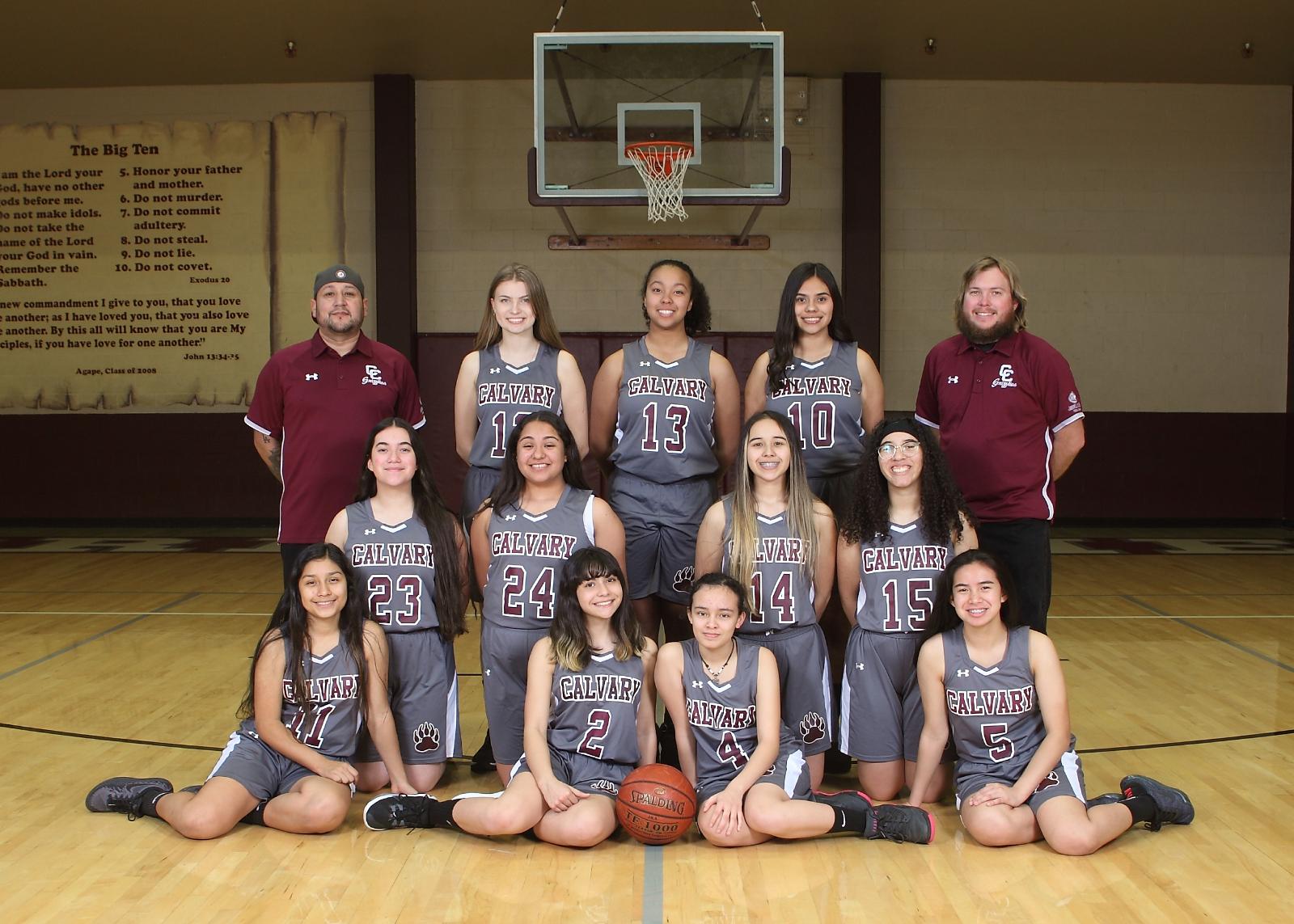 Girls Basketball Advances to First Round of Playoffs!
