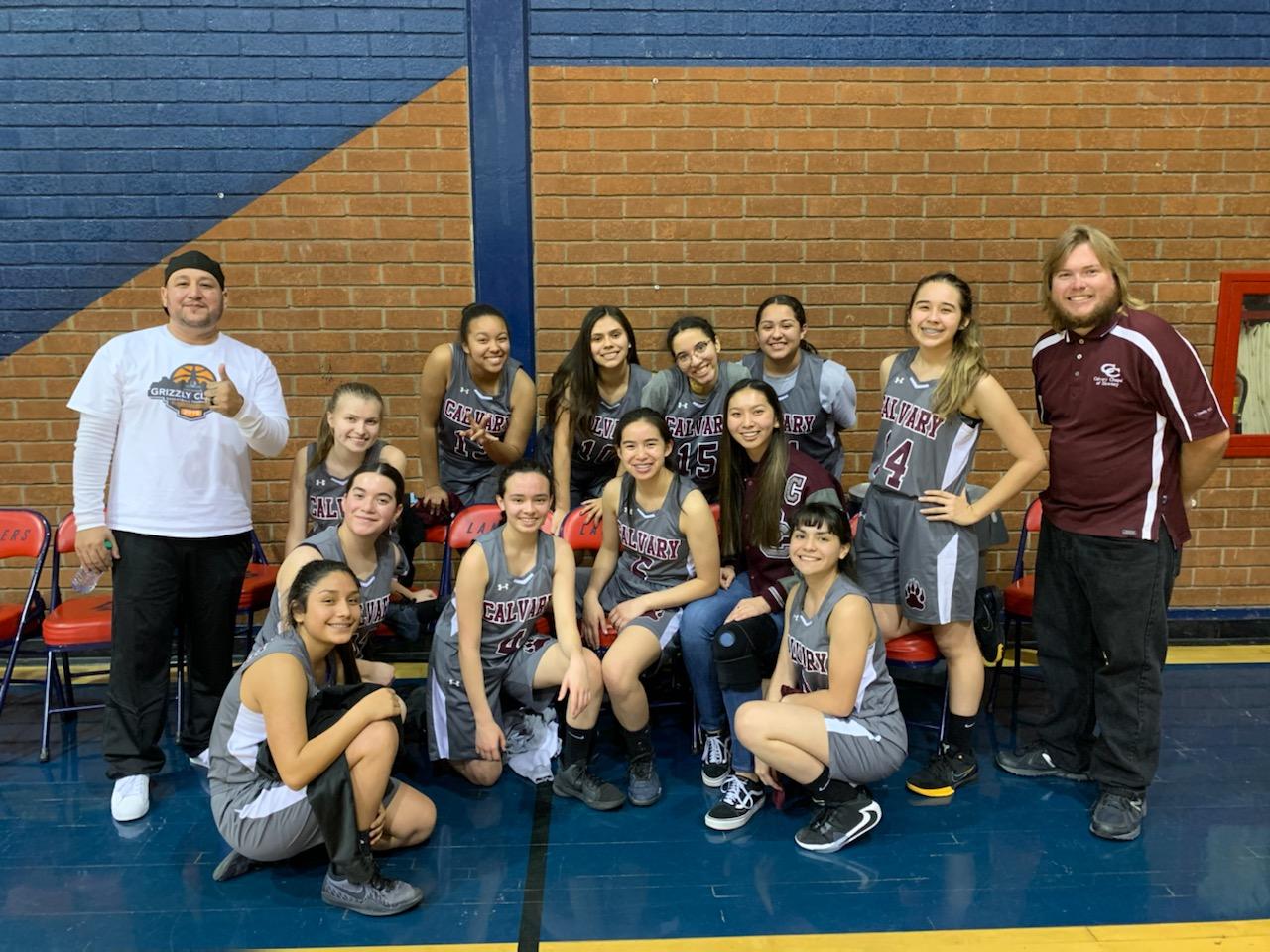 Girls Basketball Playoff Victory!