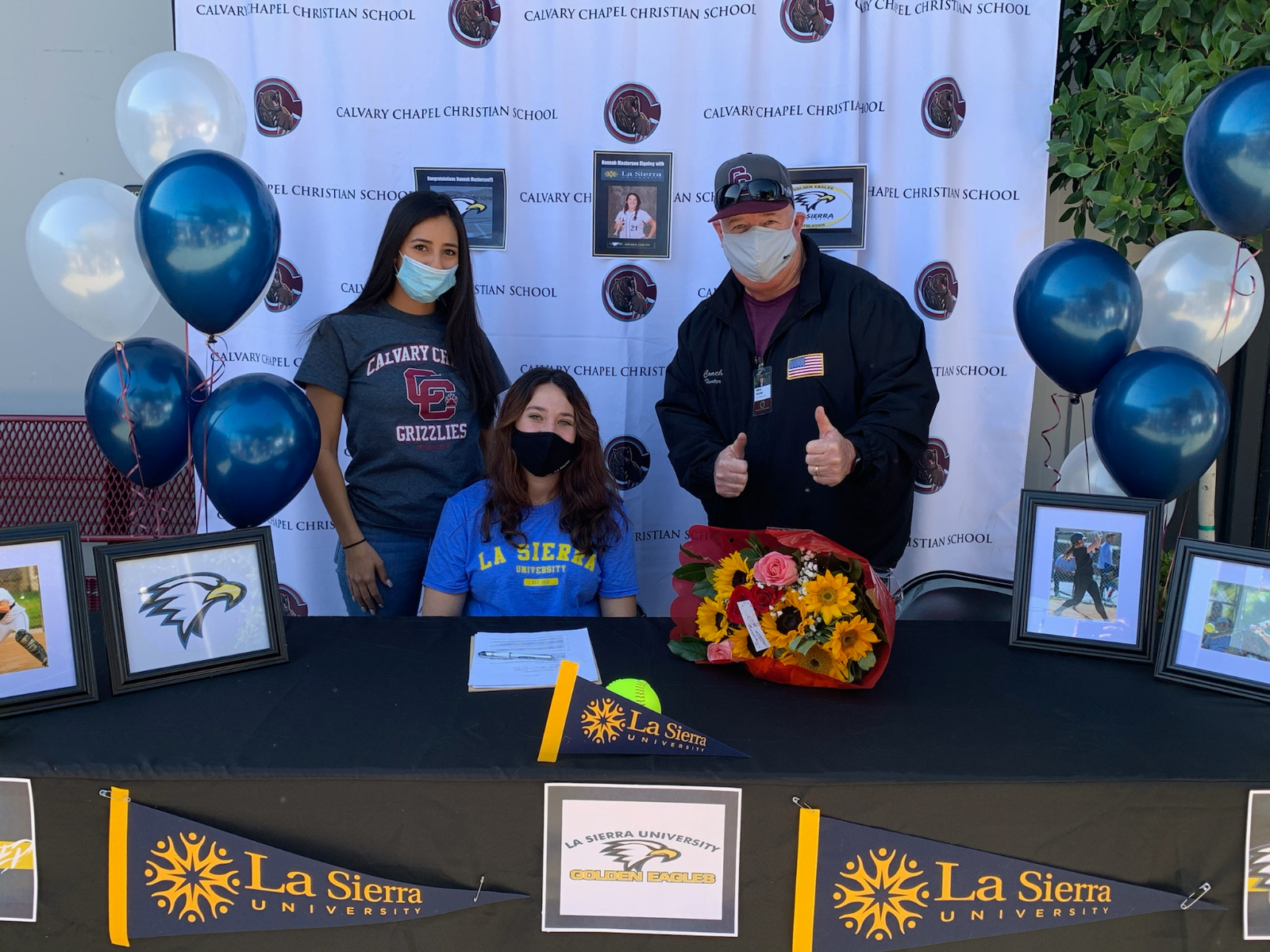 Hannah Masterson Signs Her National Letter of Intent