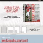 Football Media Guide Parent Dedication Ads On Sale Now