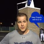 Week 2 Post game interview with Coach LaFavers