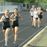 Girls Varsity Track finishes 1st place at District Track